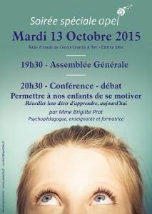 13/10/2015 AG et Conférence